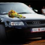 Dekorowanie auta do ślubu Lublin