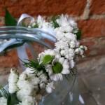 Dekoracje kwiatowe Pierwsza Komunia