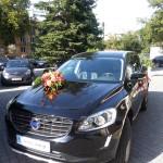 Dekorowanie samochodu do ślubu Lublin