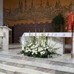 Dekoracje kościoła Lublin