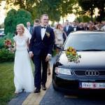 Dekoracja samochodu do ślubu Lublin