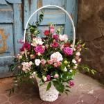Wykonywanie koszy kwiatowych Lublin
