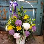 Kosze kwiatowe - kwiaciarnia Lublin